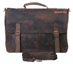 KomalC-15-Inch-Retro-Buffalo-Hunter-Leather-Laptop-Messenger