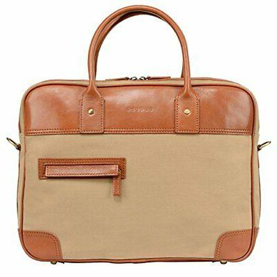 14 laptop messenger bag for men canvas
