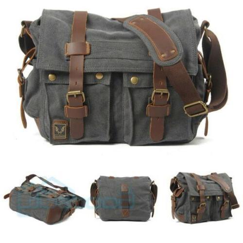 """14"""" Vintage Leather Shoulder Bag 2019"""