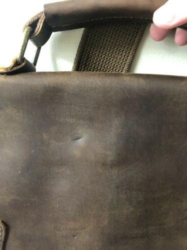 Lifewit Messenger Vintage Leather Shoulder