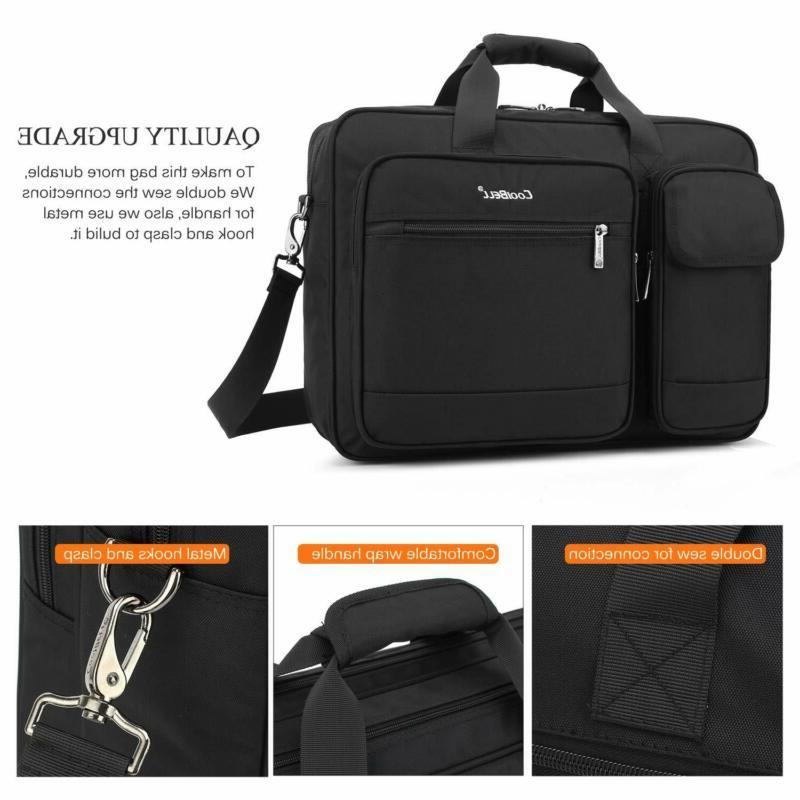 Coolbell 15.6 Messenger Briefcase Shoulder Bag