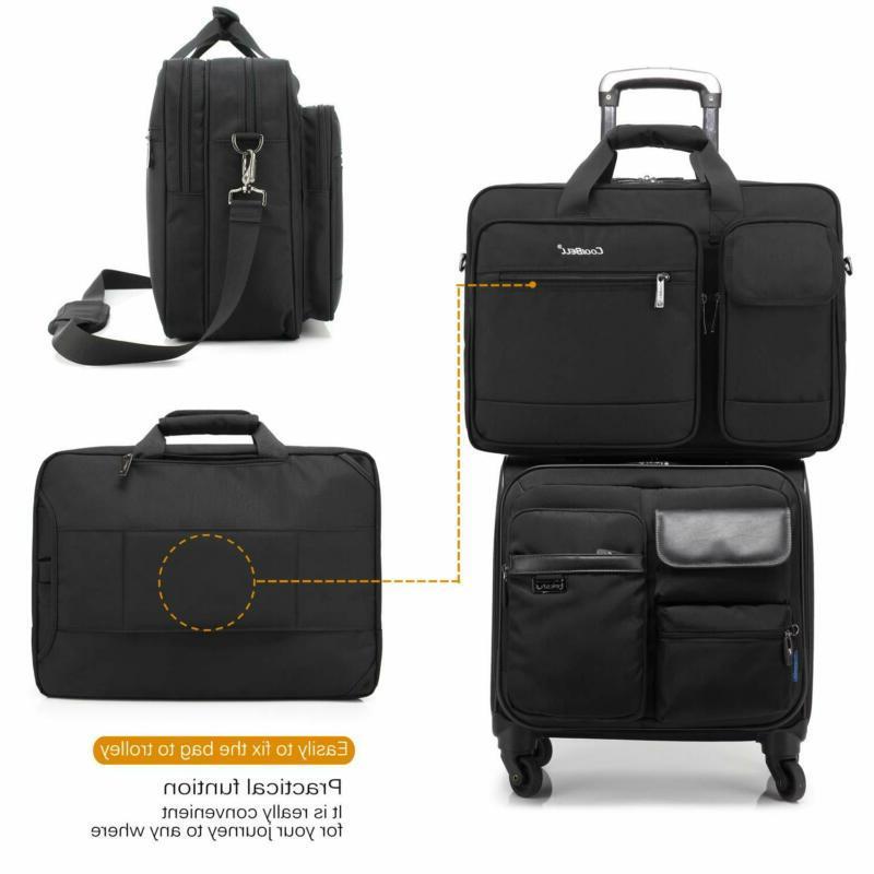 Coolbell Messenger Briefcase Protective Shoulder Bag