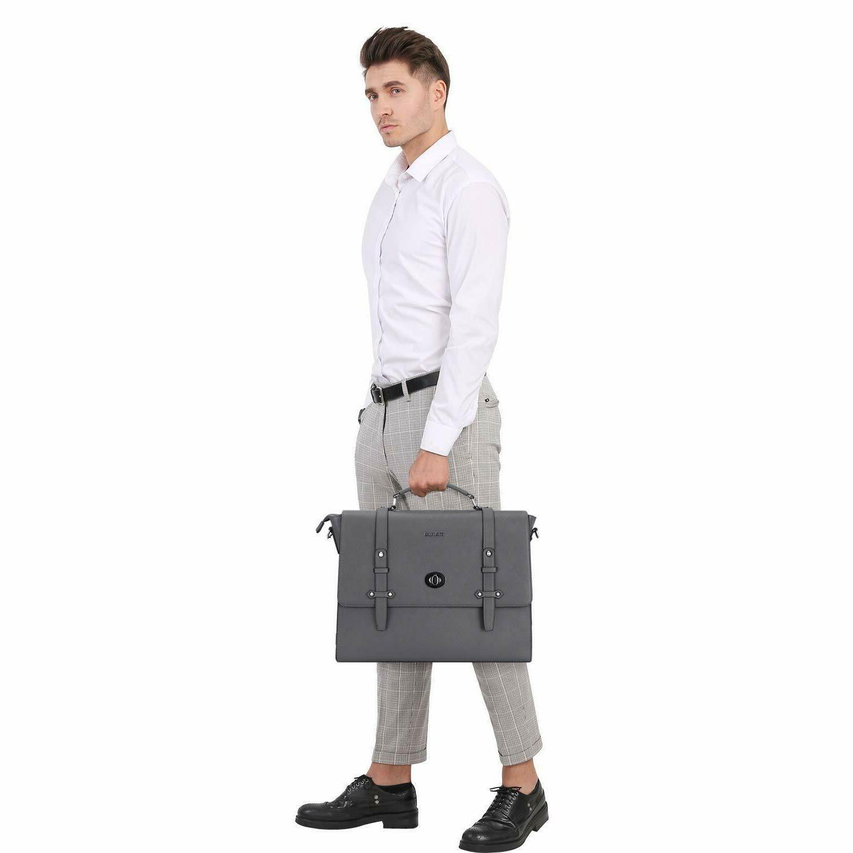 15.6 inch Laptop Shoulder Bag for Men Water Briefcase
