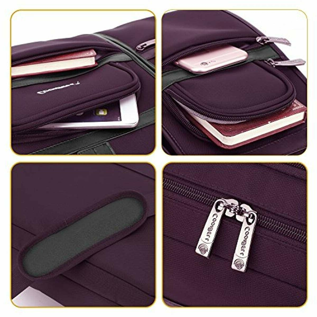 CoolBELL Bag Briefcase Protective Messenger Bag