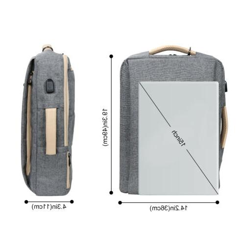 Lifewit Laptop Backpack Travel Business Messenger Bag bag