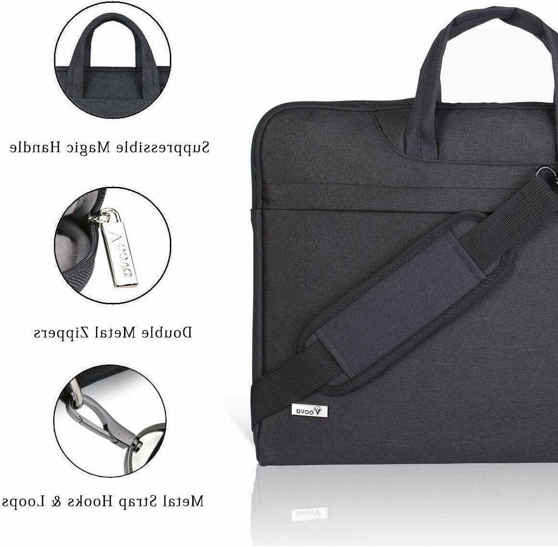 "15"" Business Slim Travel Bag Black"