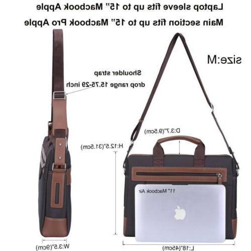 Banuce inch Laptop Tablet Bag Waterproof Business