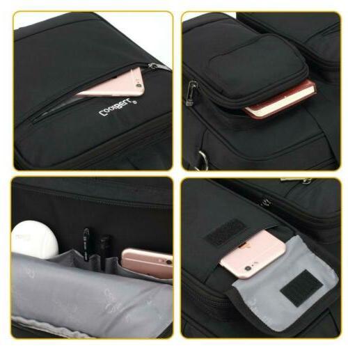 CoolBELL Briefcase Messenger Bag Nylon