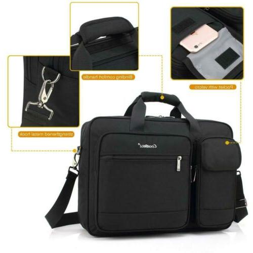 CoolBELL Inch Briefcase Protective Nylon Shoulder...