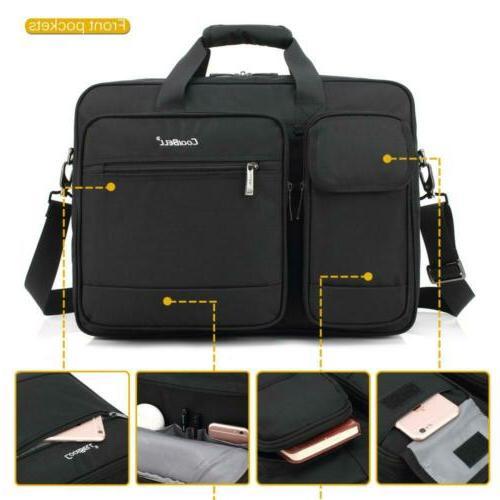 CoolBELL Briefcase Protective Messenger Nylon Shoulder...