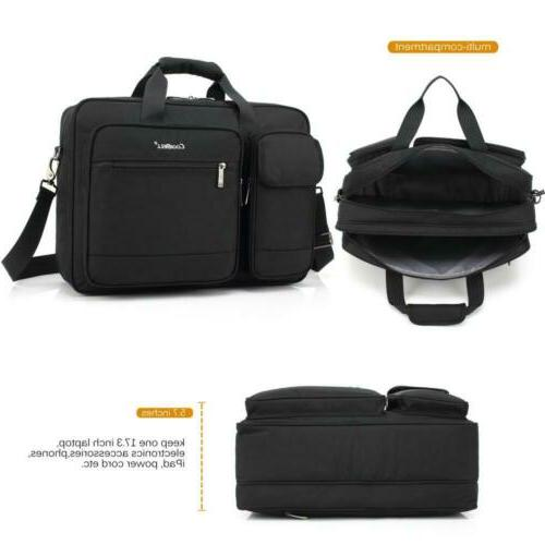 CoolBELL Inch Briefcase Messenger Bag Nylon
