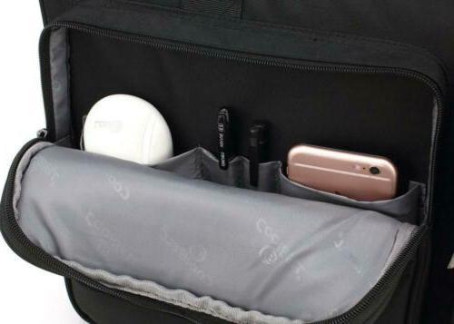 CoolBELL 17.3 Briefcase Protective Bag Nylon Shoulder...