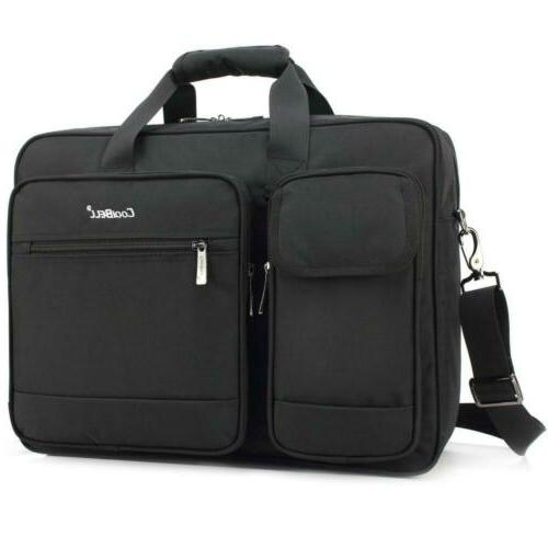 17 3 inch laptop briefcase protective messenger