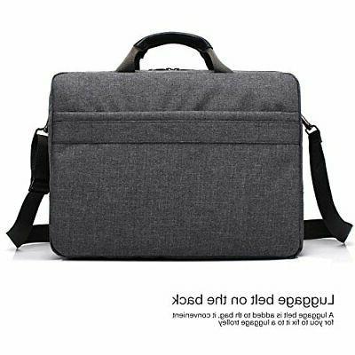 CoolBELL Laptop Messenger Bag/Durable Business Briefcase/Nylon