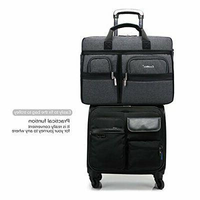 CoolBELL 17.3 Inch Laptop Messenger Bag/Durable Briefcase/Nylon