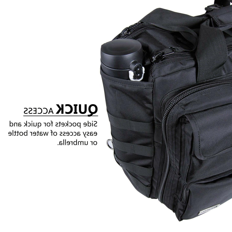 "17.3"" Mens Shoulder Bag Tactical Briefcase PC"