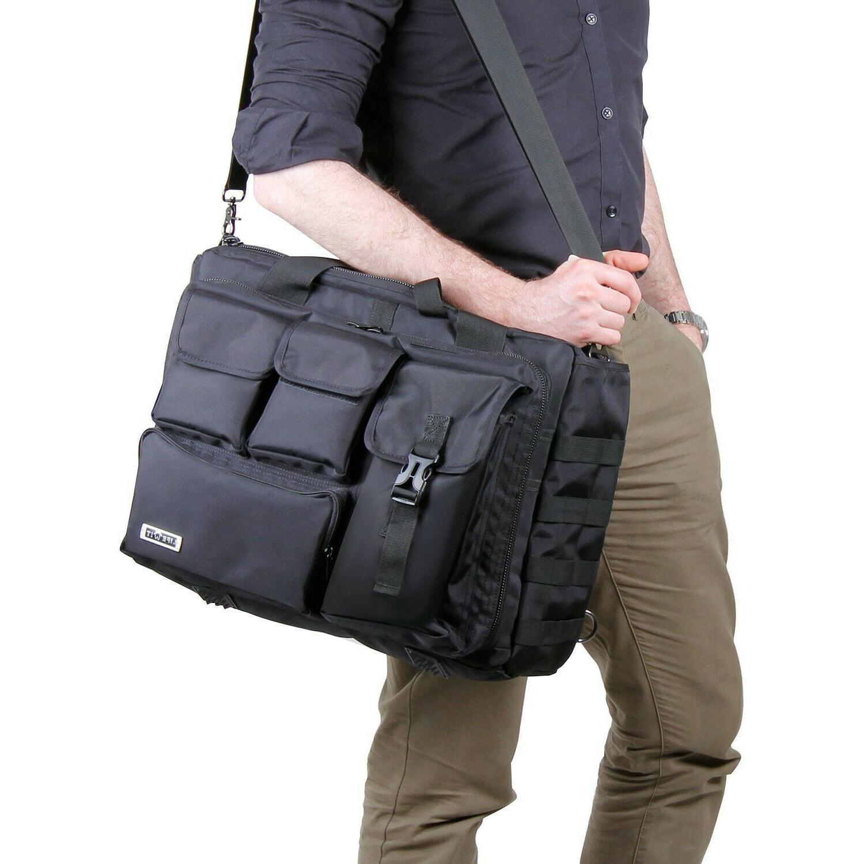 "17.3"" Mens Tactical Briefcase Computer Laptop PC"