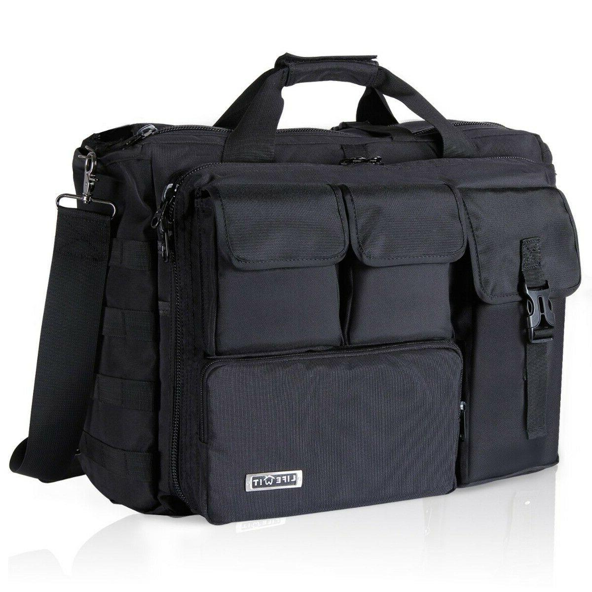 17 3 mens shoulder bag tactical briefcase