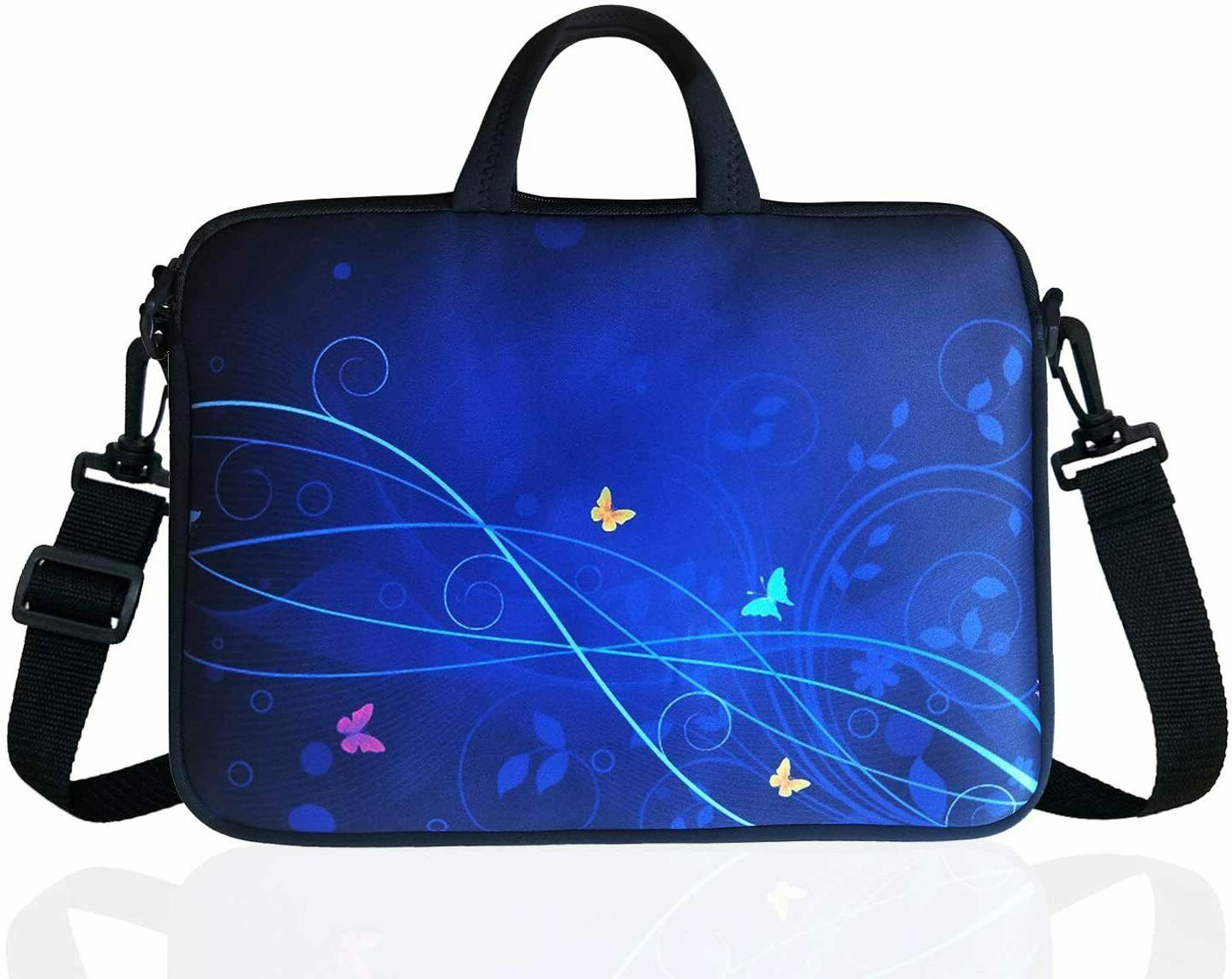 17 laptop shoulder messenger carrying bag computer