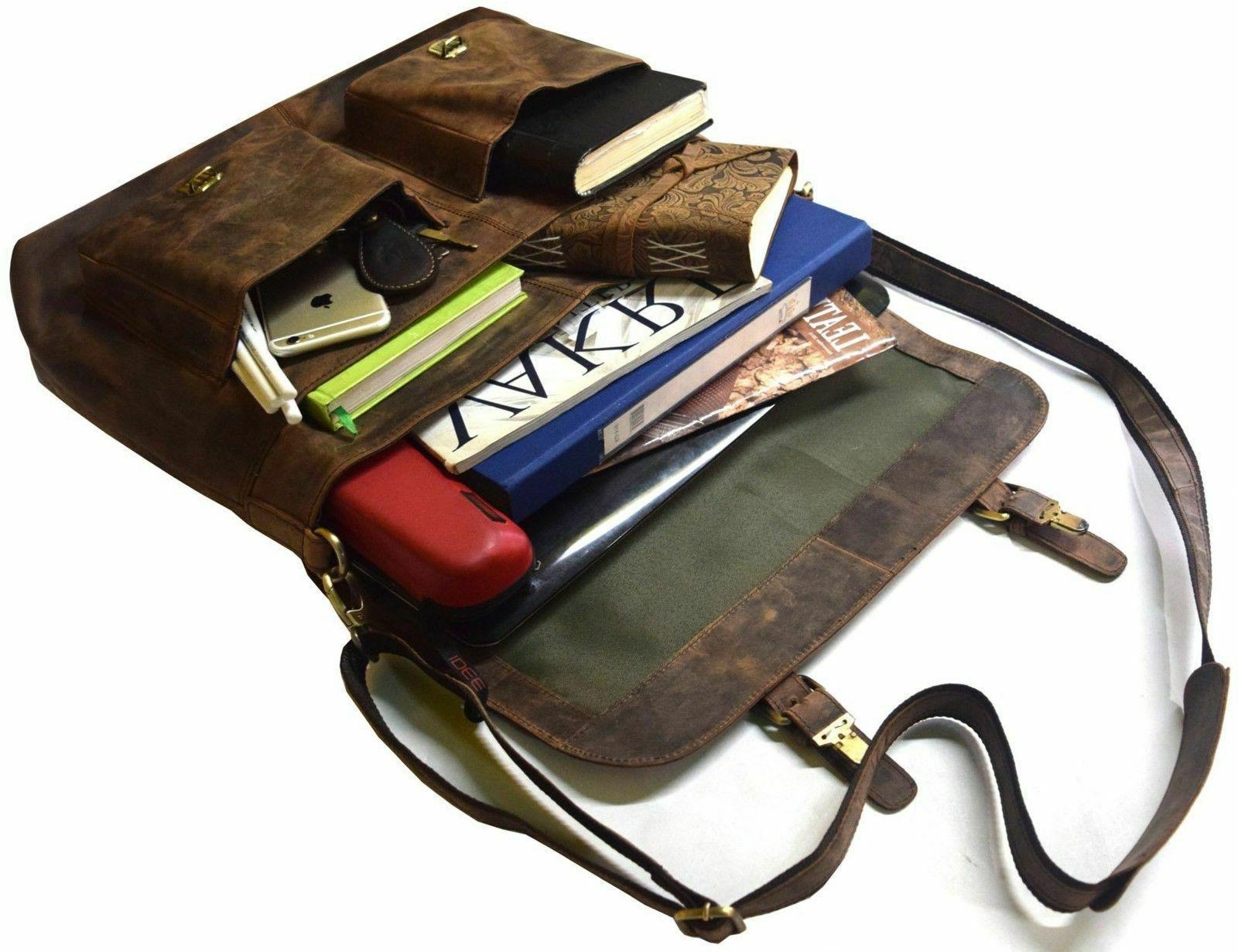 """18"""" Retro Hunter Messenger Bag"""