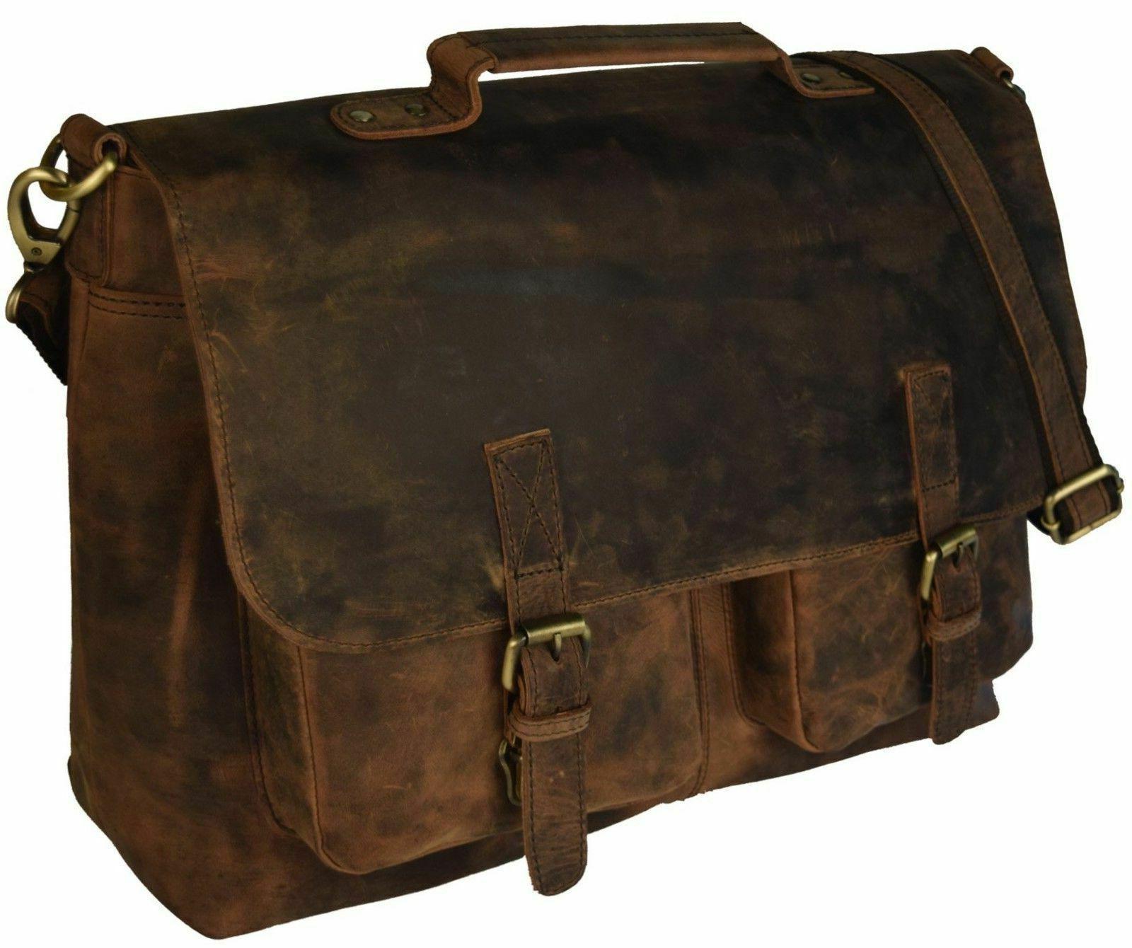 "18"" Hunter Laptop Messenger Bag"