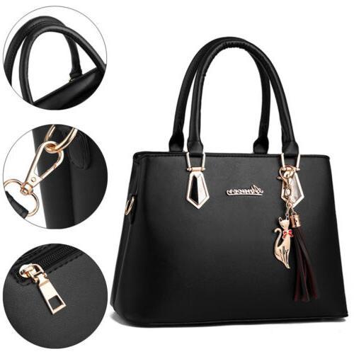 2set PU Handbag Shoulder Large Tote