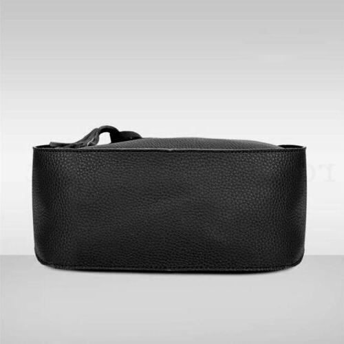 4pcs/set Women Handbag Shoulder Purse Satchel