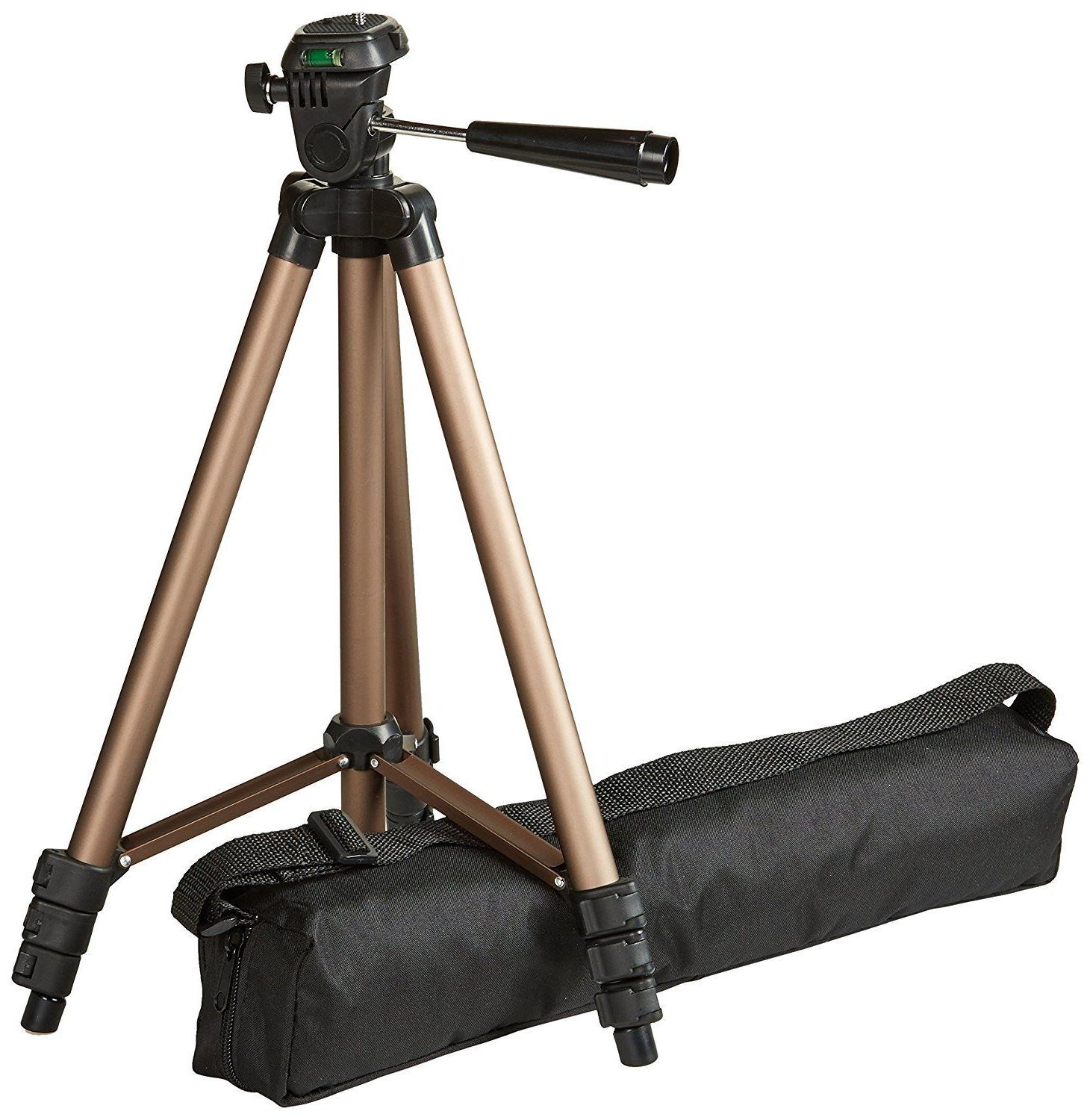 50 inch lightweight tripod with bag