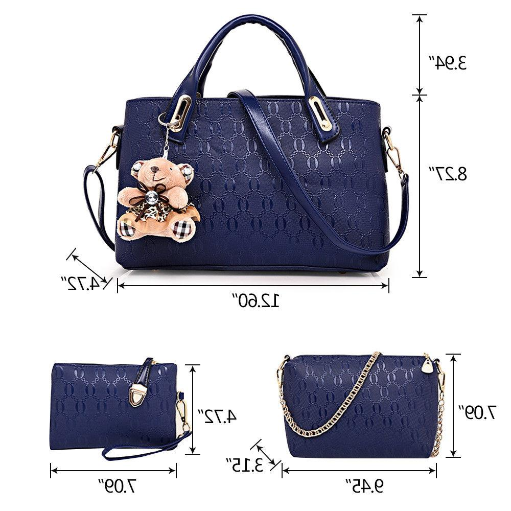 5Pcs/Set Lady Tote Satchel