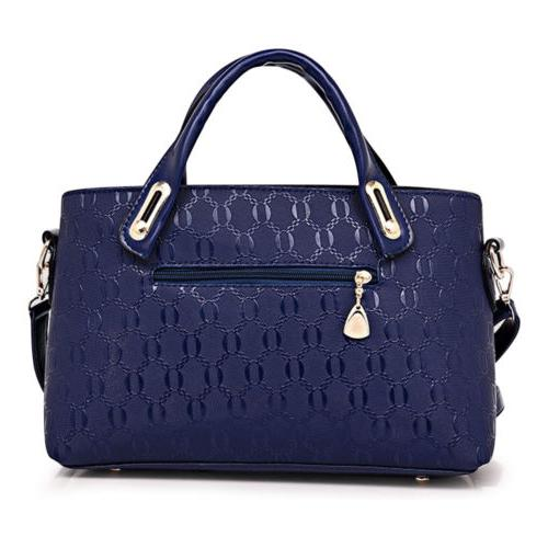 5Pcs/Set Leather Handbags Tote Satchel