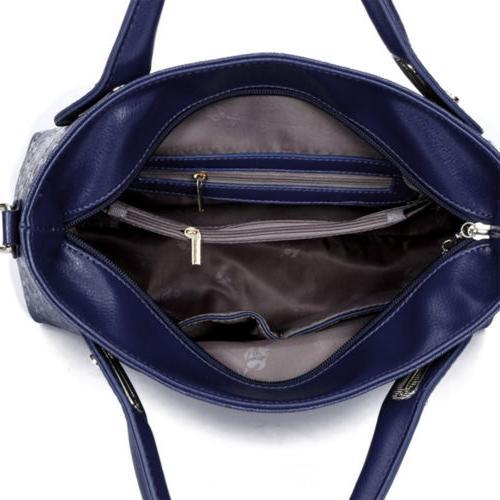 5Pcs/Set Lady Handbags Shoulder Tote