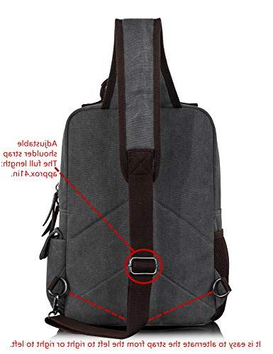 Leaper Canvas Messenger Bag Sling Bag L
