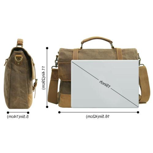 "Lifewit 15.6"" Messenger Bag Shoulder"