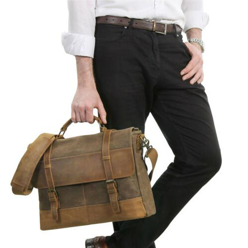 Lifewit Messenger Bag Vintage Shoulder