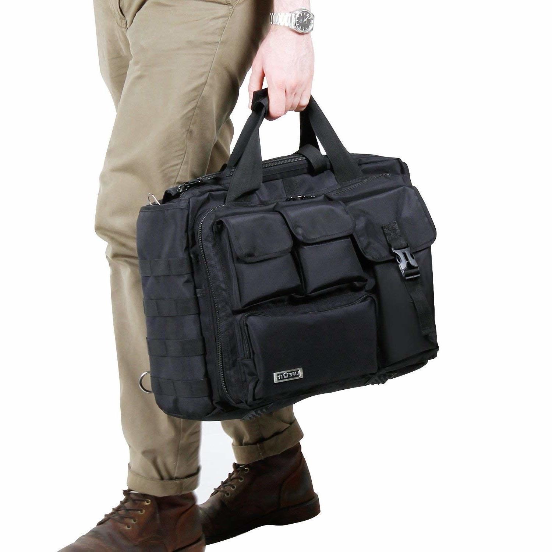 Military Laptop Messenger Bag