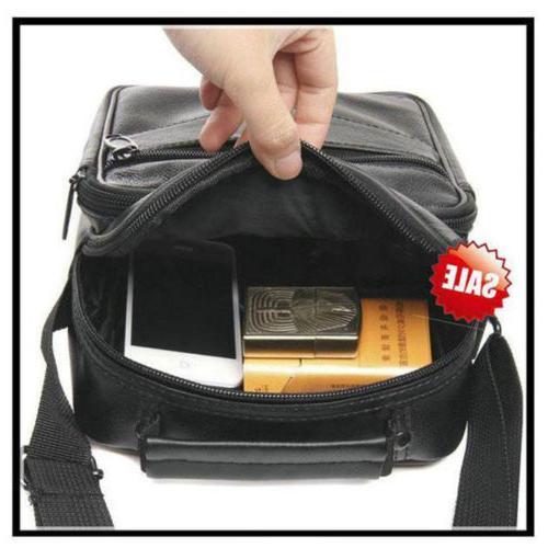 Causal Leather Cross Body Bags Travel Satchel Handbag