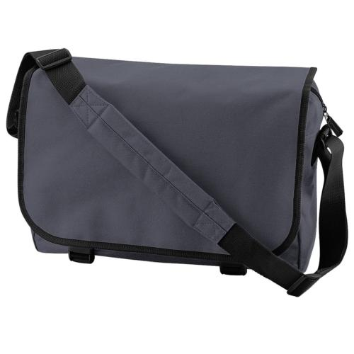 Bagbase Adjustable Messenger Bag 11 Liters One Size Graphite