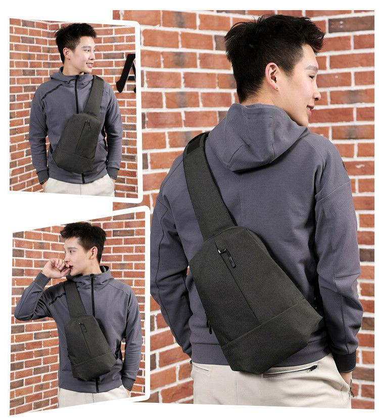 Anti-Theft Chest Messenger Sling Casual Small