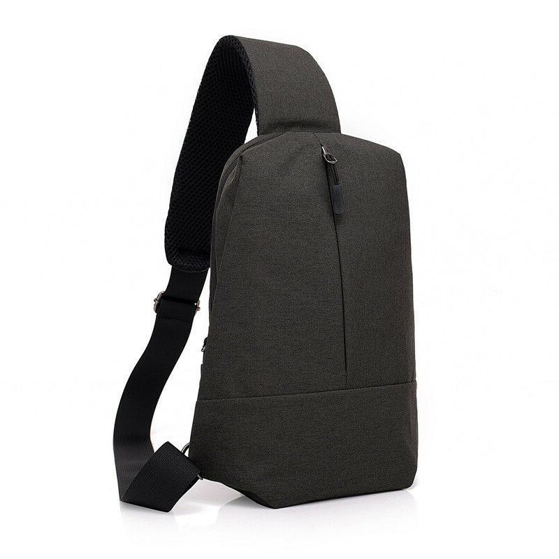 anti theft men chest messenger sling bag
