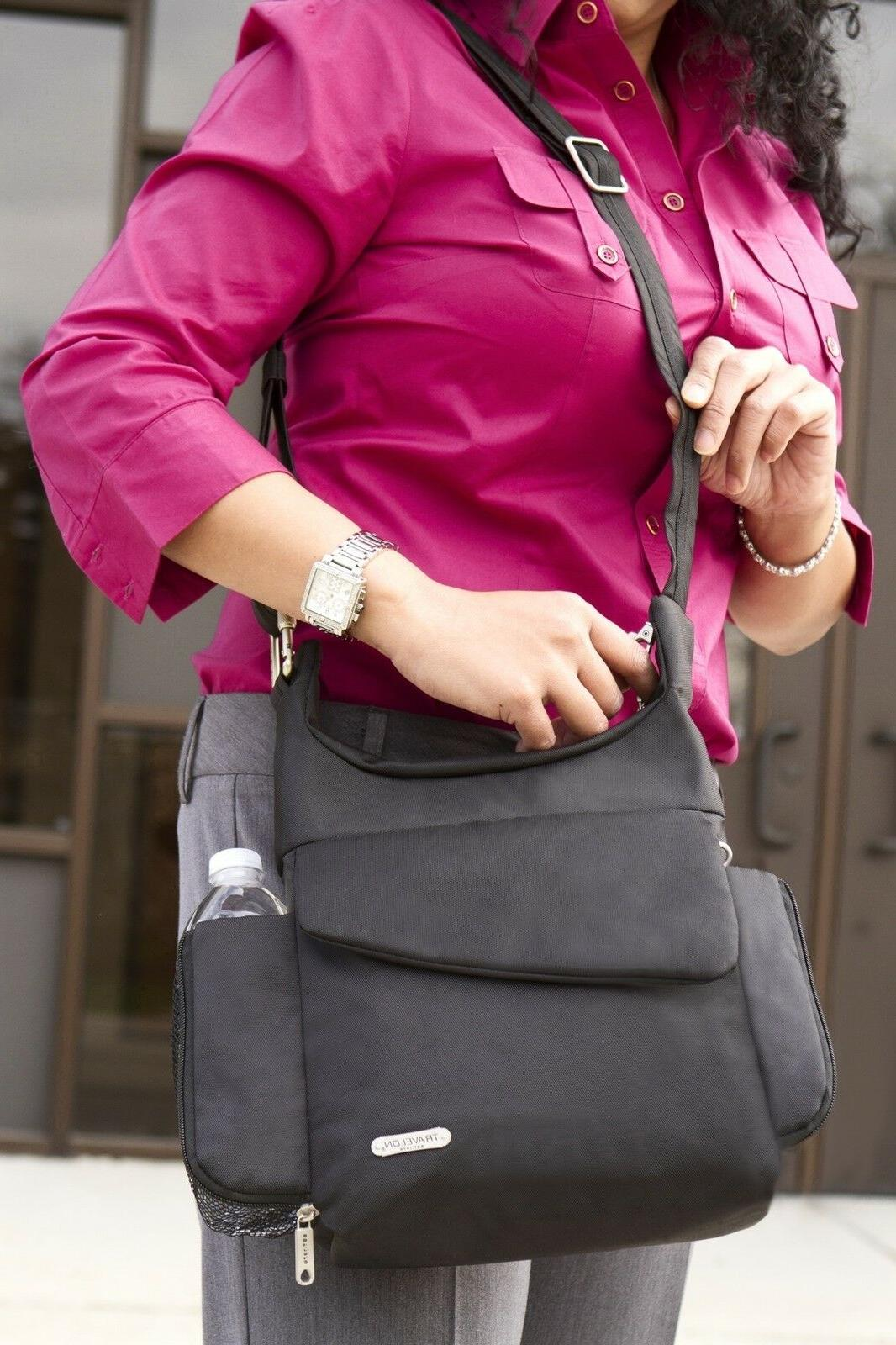 anti theft rfid safe classic messenger bag