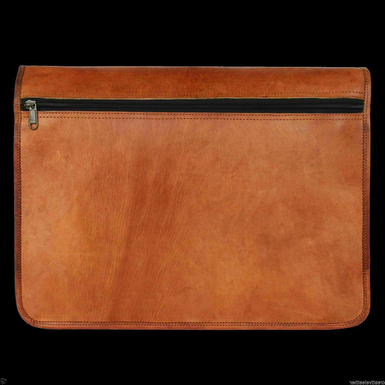 Bag Leather Messenger Satchel School S
