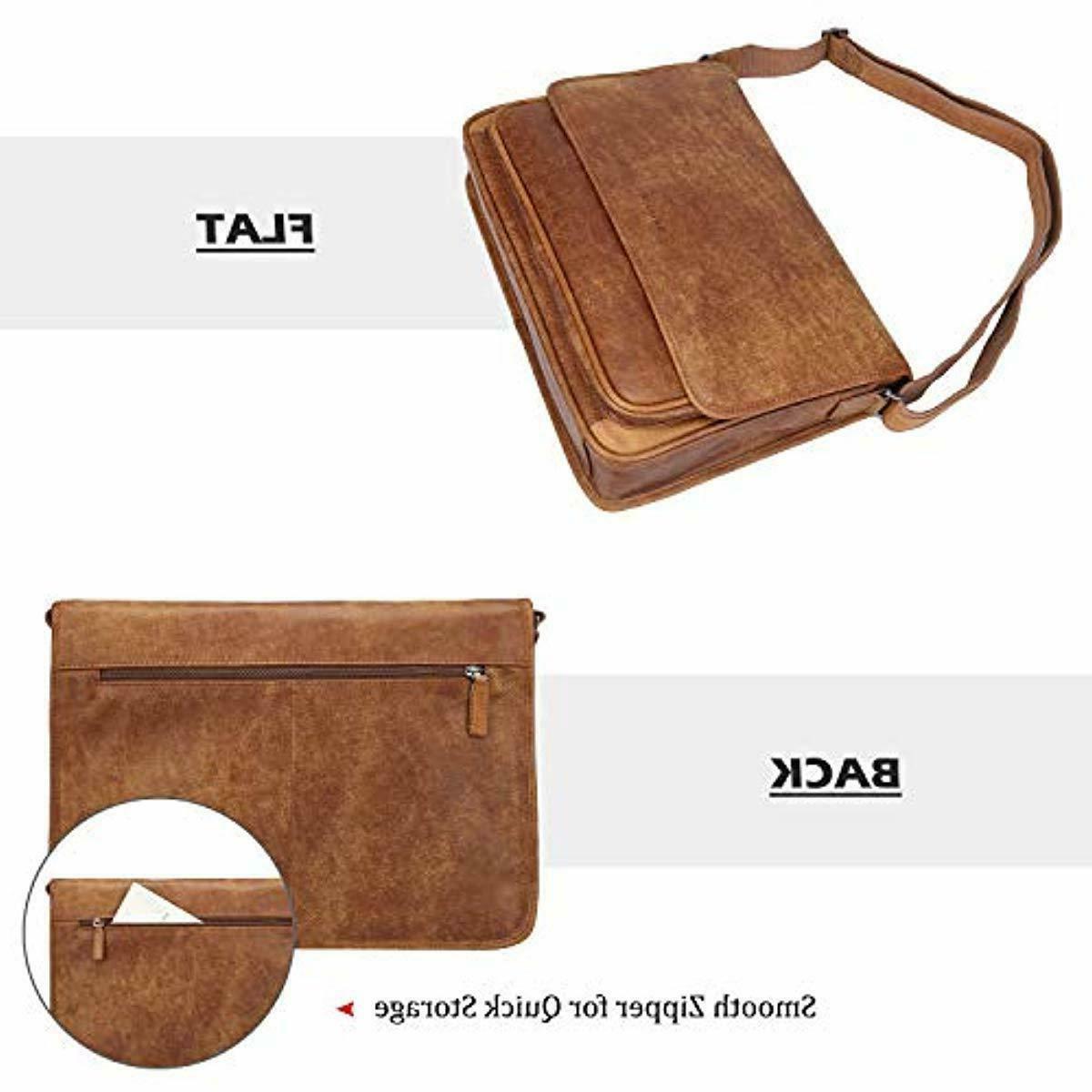 Banuce Vintage Grains Messenger Bag for S