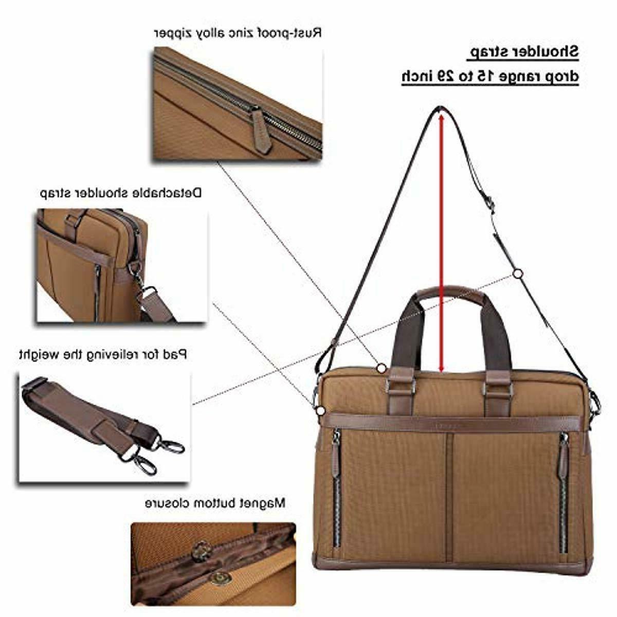 Banuce Waterproof Messenger 15.6 Business Work Tot