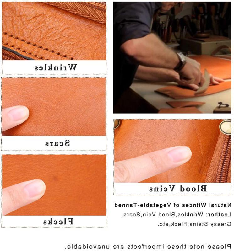 Banuce Women'S Leather Briefcase Satchel Bag Laptop