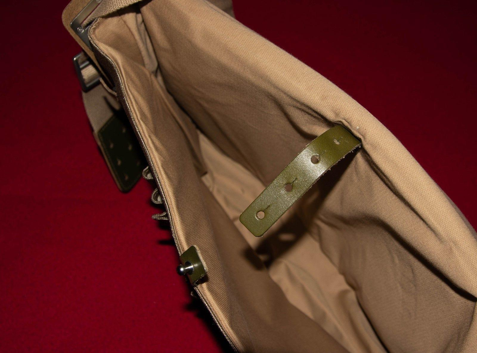 Brooks Barbican Canvas Messenger Bag Made in Italy