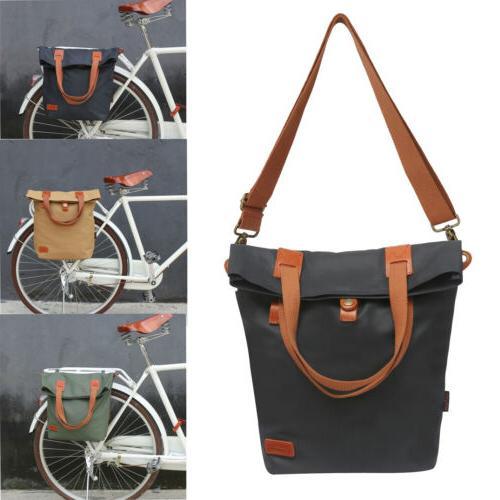 bike rear rack pack cycling pannier bag