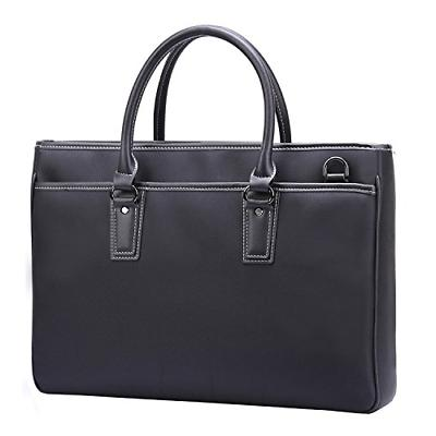 black waterproof nylon 14 laptop messenger bag