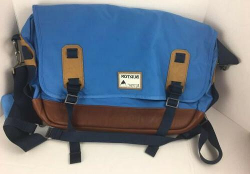 Burton Blue Shoulder Laptop