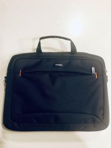 Brand Black AmazonBasics 15.6-Inch Strap Laptop and Tablet