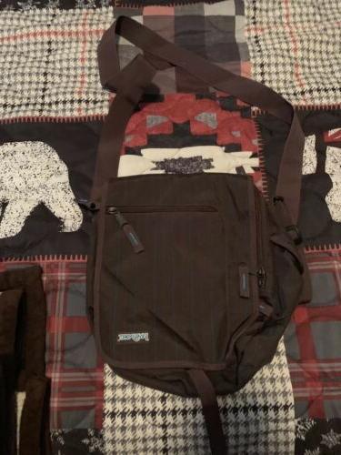 brand new messenger bag brown crossbody